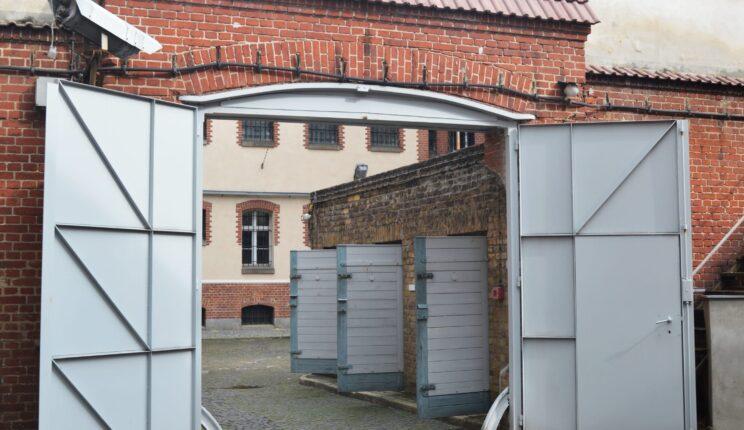 Innenhof der Stiftung Gedenkstätte Lindenstraße