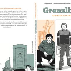 """Umschlagcover des Comic """"Grenzlinien"""""""